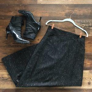 J.Crew Wool long skirt